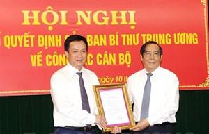 Hải Dương có tân Phó Bí thư Tỉnh ủy