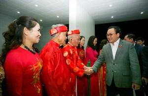 Bí thư Hoàng Trung Hải dự Ngày hội Đại đoàn kết toàn dân tại phường Sài Đồng