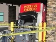 Bị thương nặng do kích nổ cây ATM trộm tiền