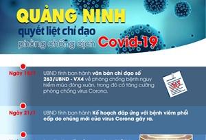 Quảng Ninh quyết liệt chỉ đạo phòng, chống dịch Covid-19