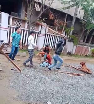 Quảng Nam: Kinh hoàng, chó sút dây cắn trọng thương người đi đường