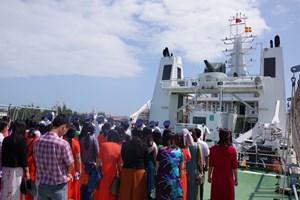 Hải đội 21 (Cảnh sát biển): Tuyên truyền biển đảo cho giáo viên, học sinh