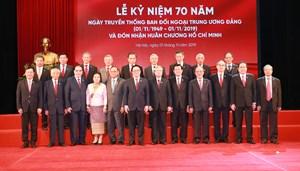 Ban Đối ngoại Trung ương: Kỷ niệm 70 năm Ngày truyền thống và đón nhận Huân chương Hồ Chí Minh