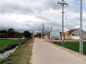 Bình Định: Xã Phước Sơn đạt chuẩn nông thôn mới