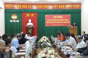 Bình Định:Đổi mới công tác thông tin, tuyên truyềncủa Mặt trận các cấp