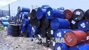 Bình Dương: Củng cố hồ sơ xử lý vụ tập kết lượng lớn chất thải nguy hại