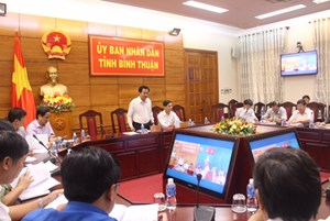 Bình Thuận cấm biển từ hôm nay để phòng tránh bão số 1