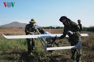 Bình Thuận thử nghiệm dùng máy bay trinh sát đi kiểm tra rừng