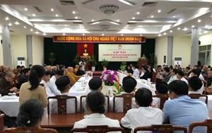 Mặt trận Bình Định: Tọa đàm phát huy vai trò đạo đức tôn giáo trong đời sống xã hội