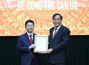 Cựu Trợ lý Thủ tướng làm tân Phó Bí thư Tỉnh ủy Hưng Yên