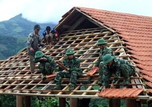 Bộ độ biên phòng Quảng Ninh giúp dân xây nhà, ổn định cuộc sống