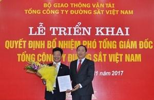 Bổ nhiệm Phó Tổng giám đốc Tổng công ty Đường sắt Việt Nam