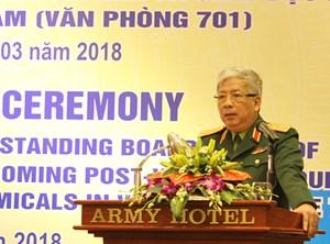 Bộ Quốc phòng: Công bố quyết định thành lập Văn phòng 701