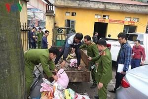 Bộ Quốc phòng xác định một số cá nhân liên quan vụ nổ ở Bắc Ninh