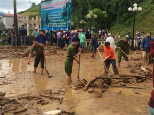 Bộ Xây dựng hỗ trợ Lai Châu 1.000 tấn xi măng khắc phục hậu quả bão lũ