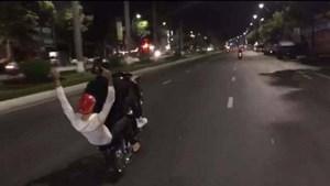 Đà Nẵng: Tìm được 2 thanh niên chạy xe bốc đầu gây náo loạn đường phố