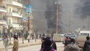 Syria: Đánh bom xe khiến nhiều dân thường thiệt mạng