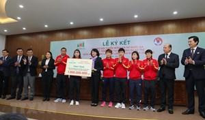 Bóng đá nữ được tiếp sức trước vòng loại cuối Olympic Tokyo 2020