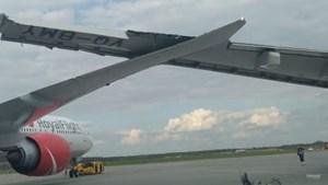 Nga: 299 hành khách phải sơ tán sau khi 2 máy bay va vào nhau trên đường băng