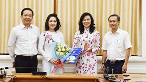 Ca sĩ Thanh Thúy làm Phó Giám đốc Sở Văn hóa - Thể thao TP HCM