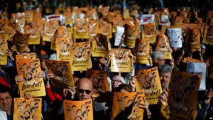 Các thị trưởng Catalonia biểu tình tại Bỉ