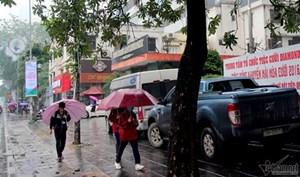 Các tỉnh miền Bắc đón Tết Dương lịch trong thời tiết ẩm ướt