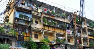 Cải tạo, xây dựng lại chung cư cũ vẫn chậm