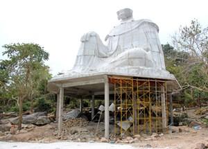 Cam kết tháo dỡ tượng Bà Chúa Xứ xây dựng trái phép