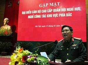 Cán bộ cao cấp Quân đội đã nghỉ hưu là lực lượng chính trị quan trọng