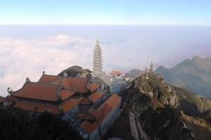 Cận cảnh kiến trúc thời Trần đẹp ngỡ ngàng trên đỉnh Fansipan