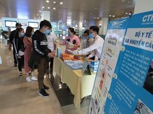Sân bay Nội Bài ngừng tiếp nhận khách Việt trên chuyến bay quốc tế