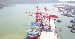 Cảng Quy Nhơn sắp đưa vào vận hành hệ thống cẩu trục hiện đại trị giá 200 tỷ đồng