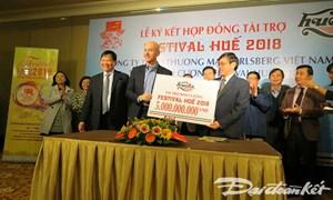 Carlsberg Việt Nam tài trợ 5 tỷ cho Festival Huế 2018