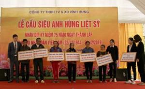 Quảng Bình: Lễ cầu siêu anh linh các anh hùng liệt sĩ