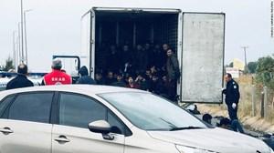 Hy Lạp: Phát hiện 41 người di cư trong khoang lạnh xe tải