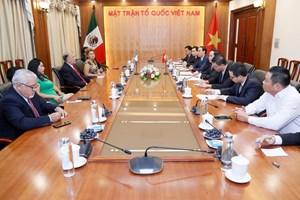 BẢN TIN MẶT TRẬN: Chủ tịch Trần Thanh Mẫn tiếp Đoàn đại biểu cấp cao Đảng Lao động Mexico