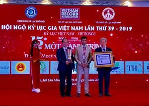 3 Kỷ lục thế giới được trao tặng tại Hội ngộ Kỷ lục gia lần thứ 39