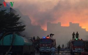 Cháy lớn tại Công ty Cổ phần Giấy Sài Gòn