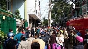 Cháy nhà 3 tầng giữa trung tâm thành phố Buôn Ma Thuột