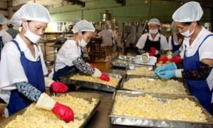 Công nghiệp chế biến thực phẩm hút vốn đầu tư