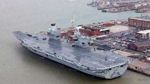 Chiến hạm lớn nhất lịch sử Anh gặp sự cố lớn