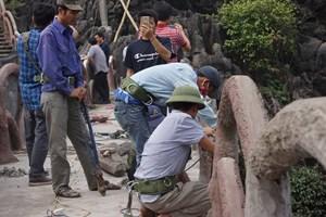 Chính thức tháo dỡ công trình sai phép ở Tràng An