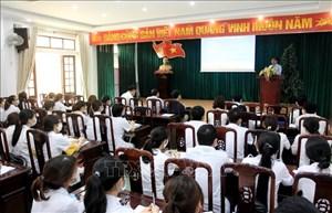 Thái Bình: Hàng trăm sinh viên ngành Y tình nguyện tham gia tuyến đầu chống dịch