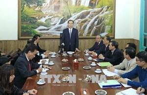 Chủ tịch nước làm việc với Văn phòng Thường trực BCĐ Cải cách tư pháp Trung ương