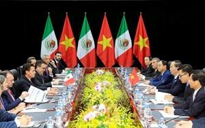 Chủ tịch nước Trần Đại Quang gặp Lãnh đạo các nền kinh tế