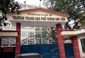 Chủ tịch TP Hà Nội bổ nhiệm hiệu trưởng 3 trường THPT