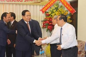 Chủ tịch Trần Thanh Mẫn chúc mừng Giáng sinh tại TP Hồ Chí Minh và Tiền Giang