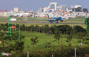 Chưa chốt thu hồi sân golf để mở rộng Tân Sơn Nhất