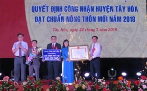 Tuy An (Phú Yên): Xã An Thọ đón bằng công nhận đạt chuẩn nông thôn mới