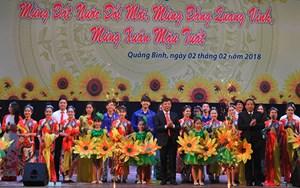 Chương trình nghệ thuật 'Mừng Đảng mừng Xuân'